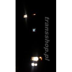 NUDE BUS CLUB Tabliczki podświetlane LED