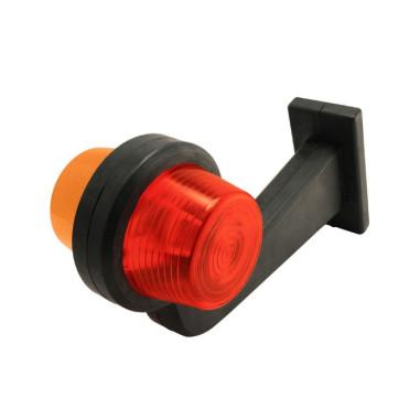 Poziční světlo GYLLE 195 oranzovo cervene