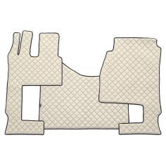 MERCEDES MP4 - PŁASKA PODŁOGA + FOTEL SKŁADANY Dywaniki na całą podłogę EKO-Skóra