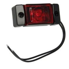 Pozicni svetlo LED cervene