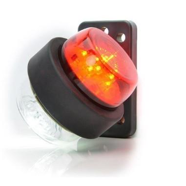 Pozicni svetlo LED bilo cervene