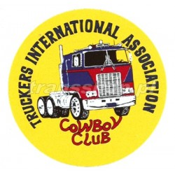NAKLEJKA TRUCKERS INTERNATIONAL ASSOCIATION