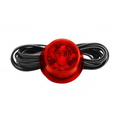 Klosz LED GYLLE czerwony