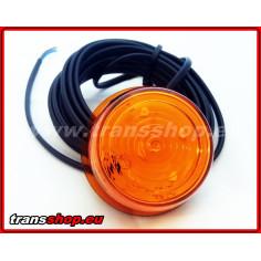 Moduł LED obrysówka duńska pomarańczowy zamiennik