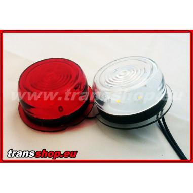 Moduł LED obrysówka duńska biało-czerwony zamiennik