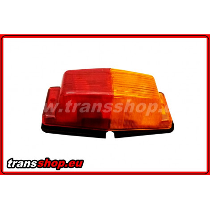 Double burner orange-red budget price light