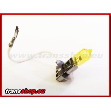 H3 yellow halogen bulb 24V 70W