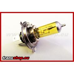 H4 - žlutá žárovka