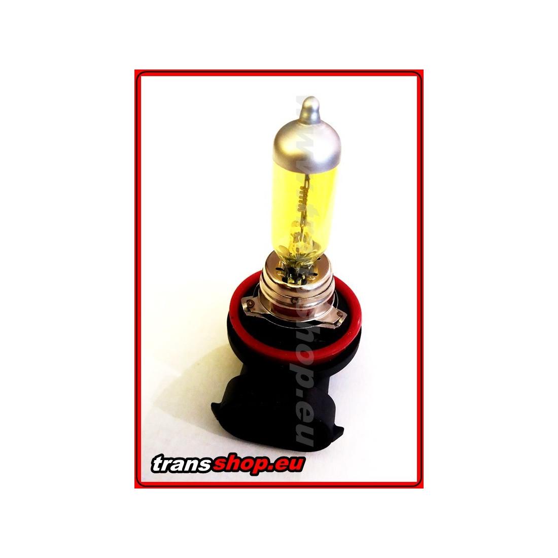 H11 yellow halogen bulb 24V 70W