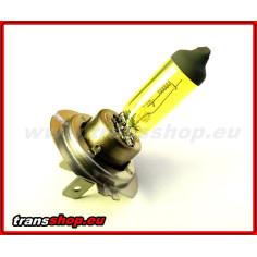 H7 - žlutá žárovka