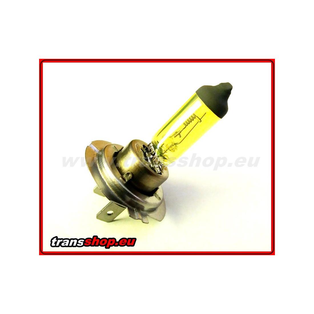 H7 yellow halogen bulb 24V 70W