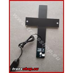 Podsvícený kříž RGB vícebarevný