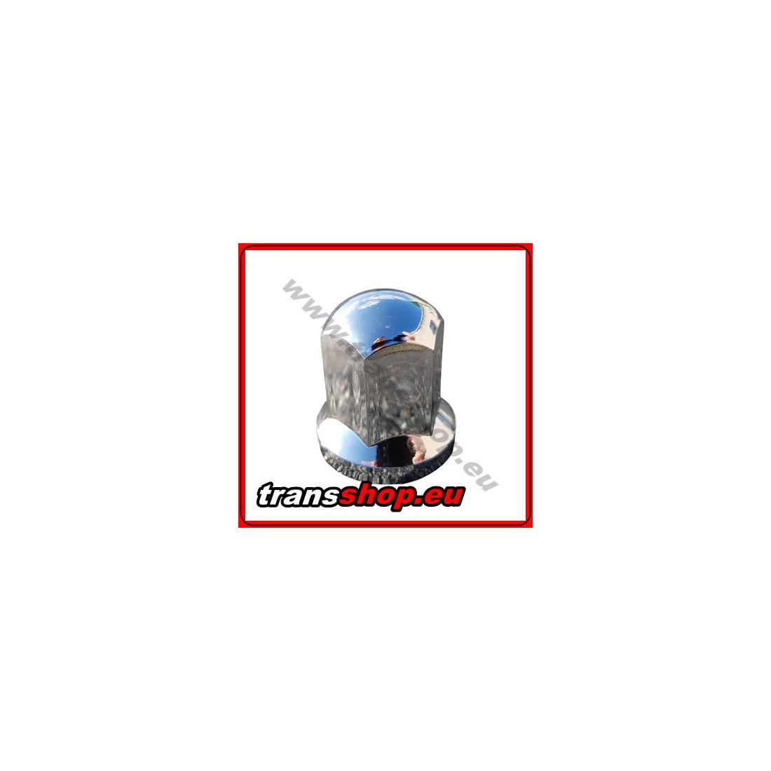 Radmutternkappe Kunststoff  Chrom 33mm