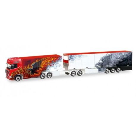 Scania CS 20 HD Ristimaa Fire Bird HERPA MODEL