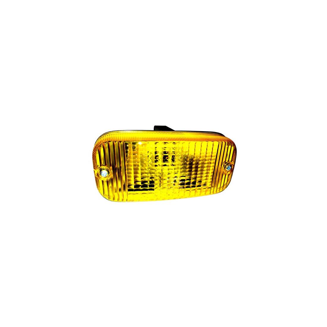 Cytrynki TALMU żółte w zderzak lampy tuning