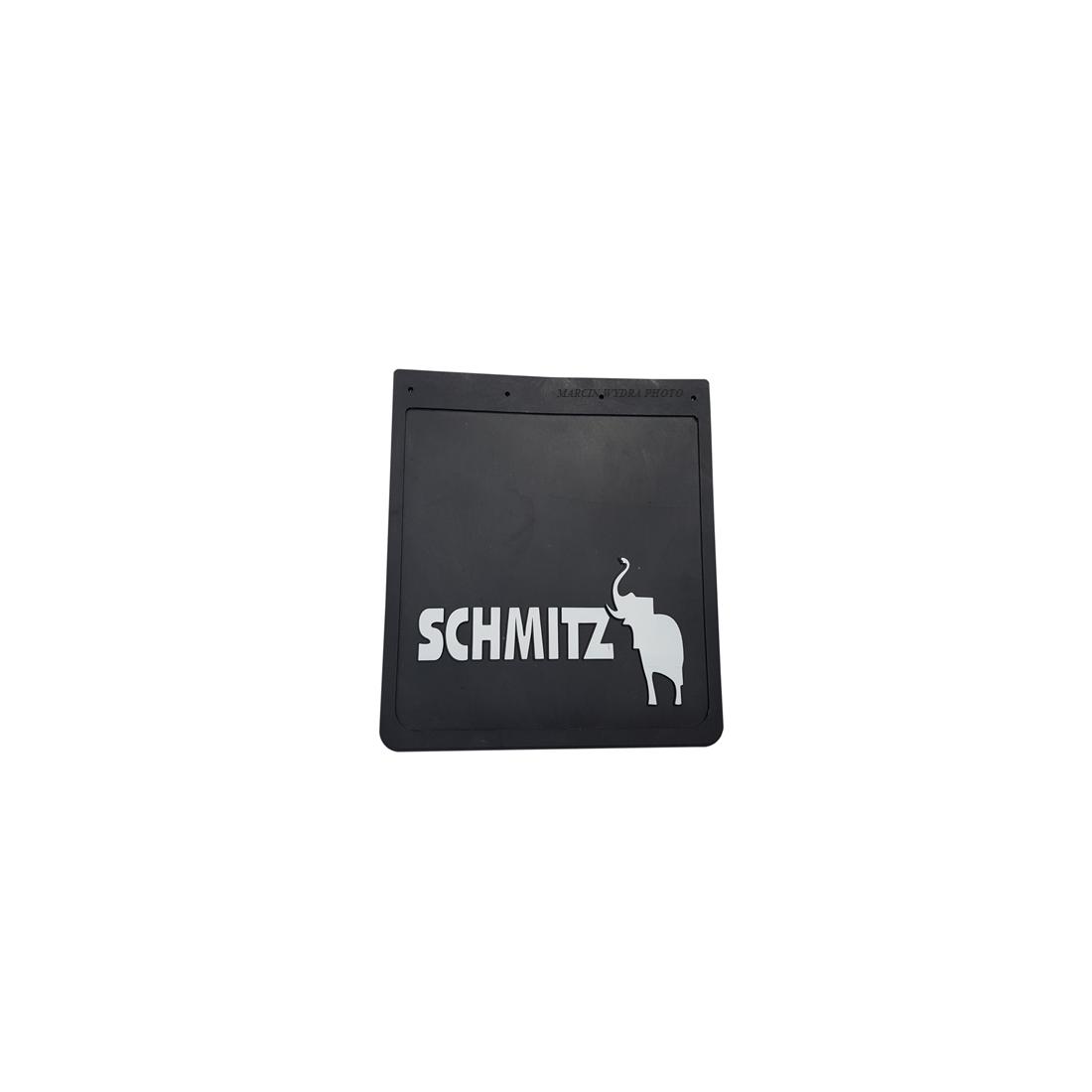 Mud flap SCHMITZ black - white 3D
