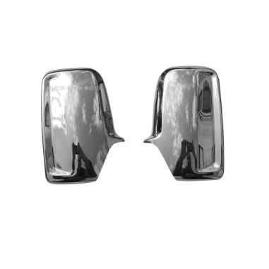VW CRAFTER 12+ Spiegelabdeckung Edelstahl