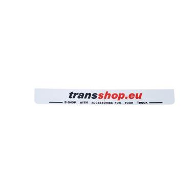 Mud flap 3D  WHITE transshop.eu
