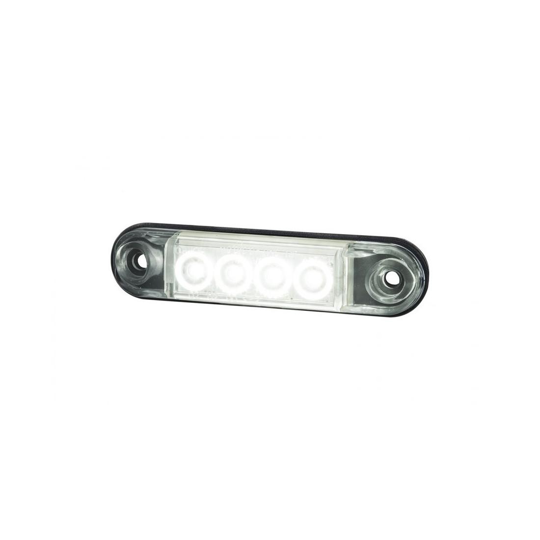 Marker light LED white SLIM