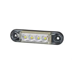 Markierungsleuchte LED Weiß SLIM