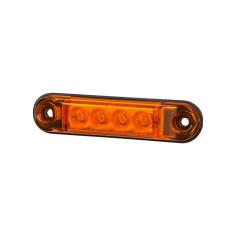 Marker light LED orange SLIM