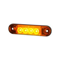 Poziční světlo LED oranzove  SLIM