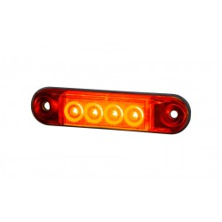 Marker light LED red SLIM