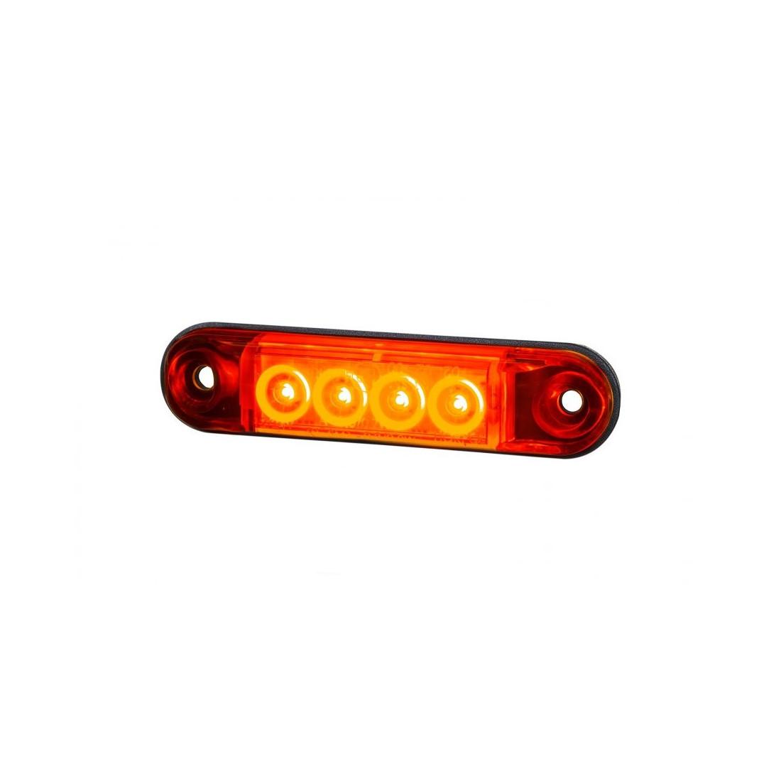 Marker light LED red SLIM