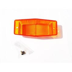 Orange glass for DOUBLE BURNER light glass