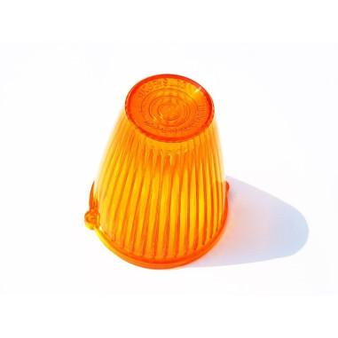 Orange glass for TORPEDO light