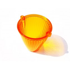 Glass Orange TORPEDO Lampenschirm