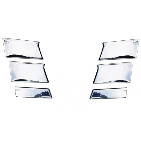 SCANIA R NG stainless corner covers grill