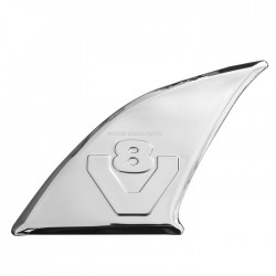 Stainless decoration next to handle V8 3D