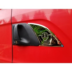 Nerezovy dekor V8 před kliku Scania