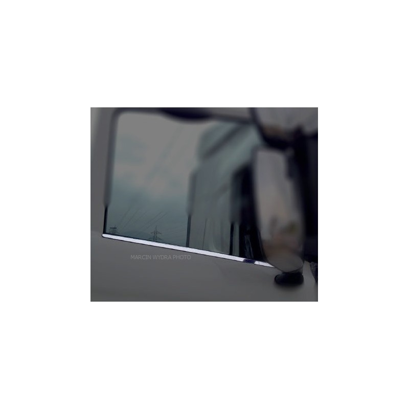 SCANIA 4 R pressed  3D window lath chrome stainless