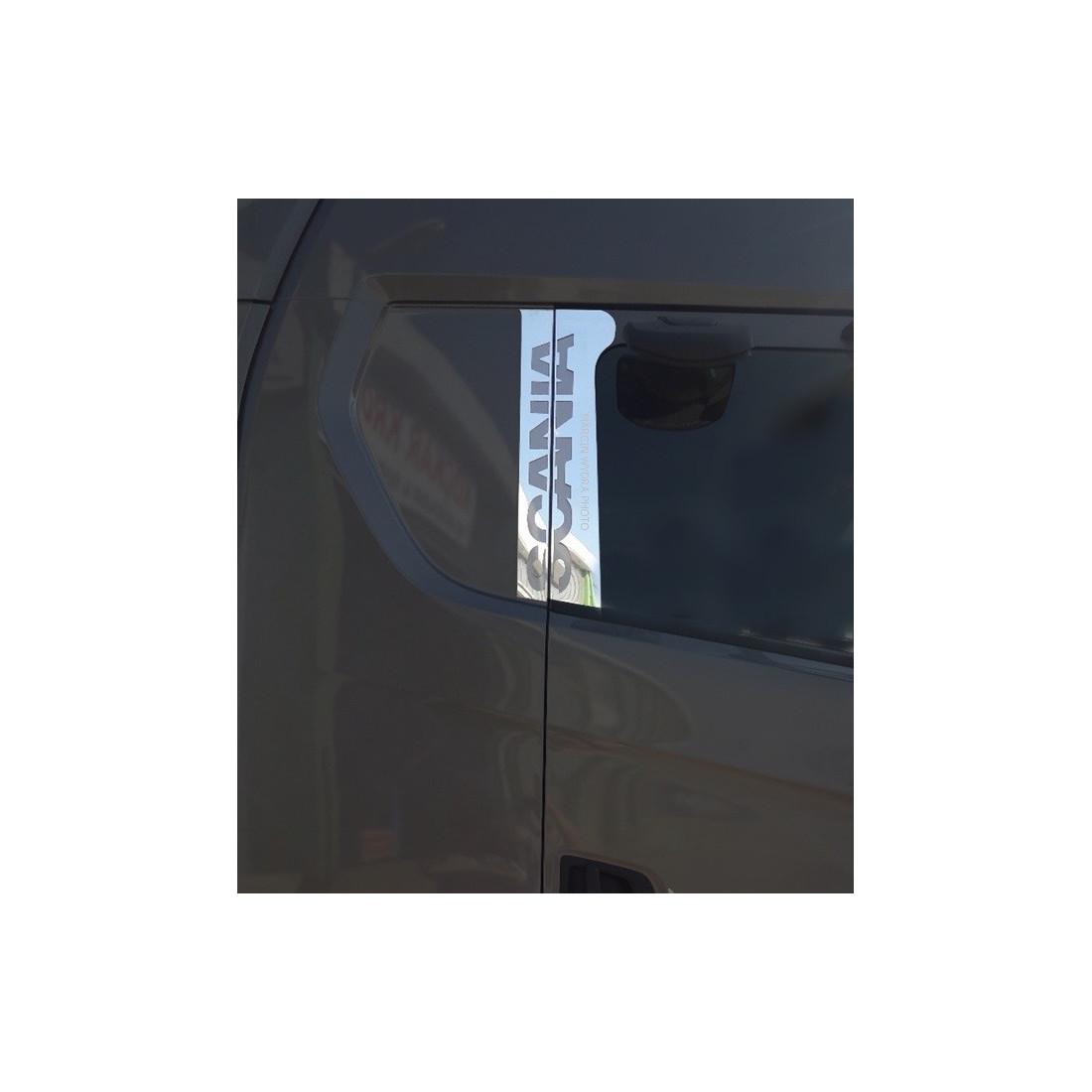SCANIA NG S Door pillar stainless chrome