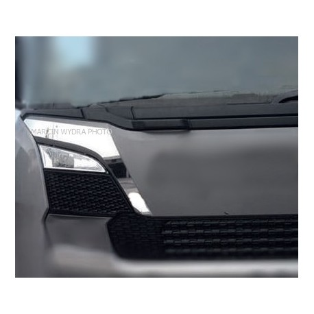 SCANIA NG chrome grill decoration upper grill trims