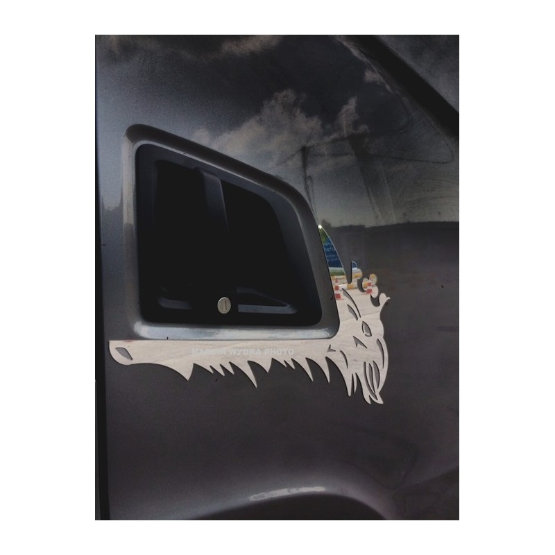 SCANIA NG  door handle frame stainless steel chrome