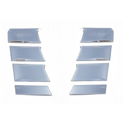 SCANIA S NG stainless corner covers grill