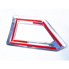 SCANIA S HIGHLINE NG Edelstahl 3D Dekor Top Scheinwerfer Abdeckung
