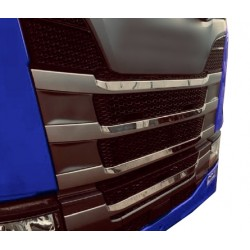 SCANIA S NG3 Grill Latte Abdeckung Edelstahl