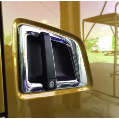 SCANIA S door handle cover inox chrome 3D