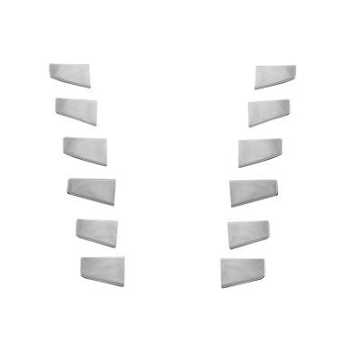SCANIA R dekor okrasné krytky mřížek 12 kusu