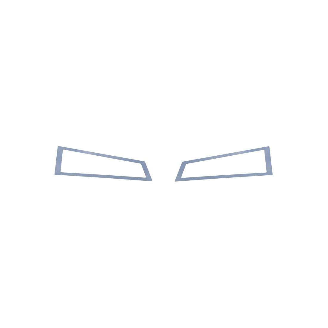 VOLVO FH 4 down light stainless frame chrome