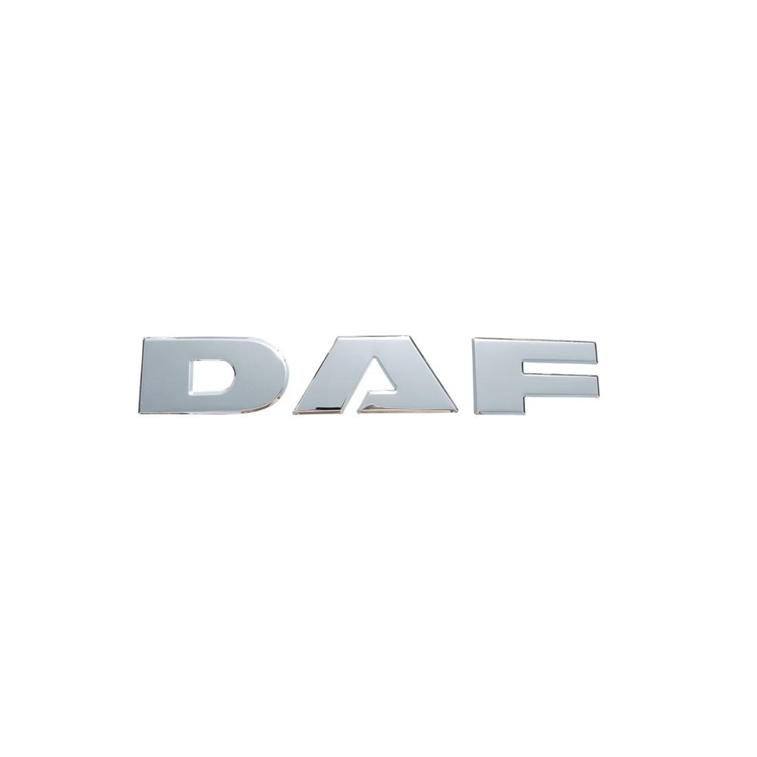 DAF nerezovy napis na masku