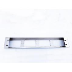 LIGHT BOX NIERDZEWNY NA HALOGENY CHROM GRILL
