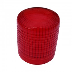 HELLA KL7000 red glass flashing beacon hood