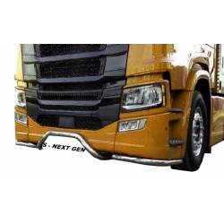 SCANIA NG R S bumper bars side + plate stainless