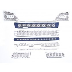 SCANIA NG R stainless grill chrome cover
