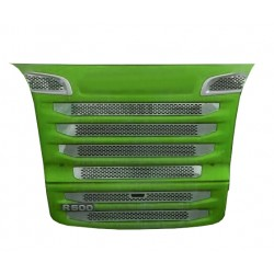 SCANIA R 10-13 stainless grill chrome cover